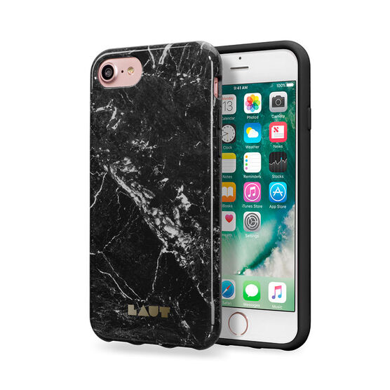 Laut Huex Elements iPhone 7 Case - Marble Black - LAUTIP7HXEMB