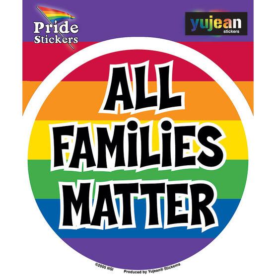 All Families Matter Sticker