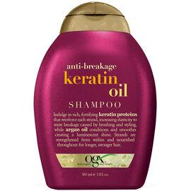 OGX Anti-Breakage Shampoo with Keratin Oil - 385ml