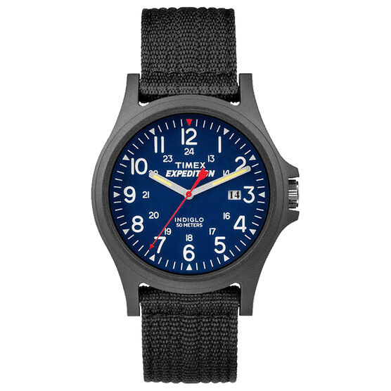 Timex Outdoor Expedition Watch - Blue/Black - TW4999900G