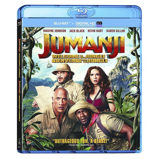 Jumanji: Welcome to the Jungle - Blu-ray