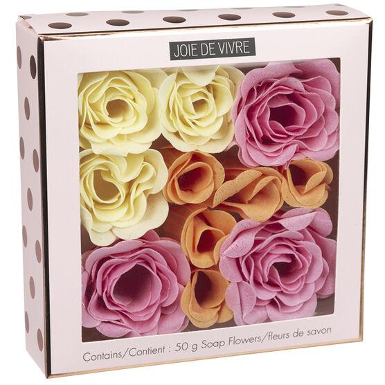Joie De Vivre Soap Flowers - 11 piece