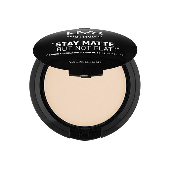 NYX Professional Makeup Stay Matte But Not Flat Powder Foundation - Ivory
