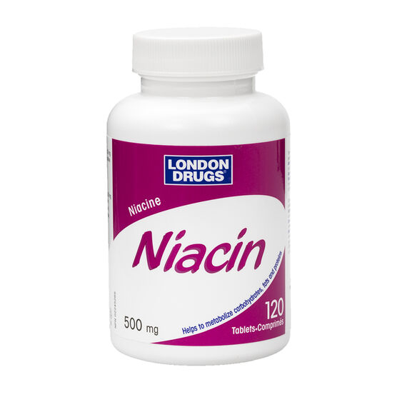 London Drugs Niacin - 500mg - 120's