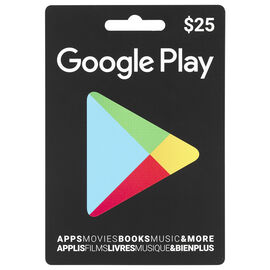 Google Play - $25