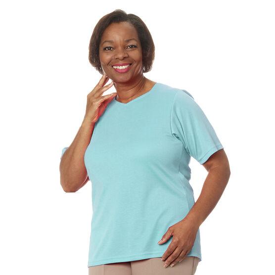 Silvert's Women's Open-Back Diamond Neck Shirt - Small - XL
