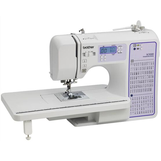 Brother Computerized Sewing Machine - White - SC9500