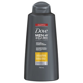 Dove Men +Care Fortifying Shampoo + Conditioner - Thick & Strong - 750ml