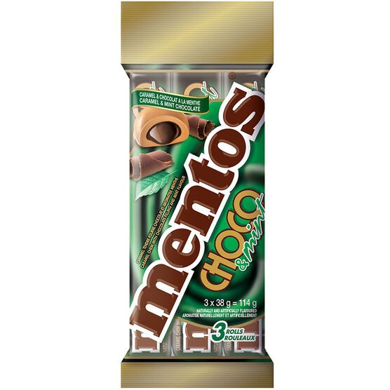 Mentos - Chocolate Mint - 3 pack
