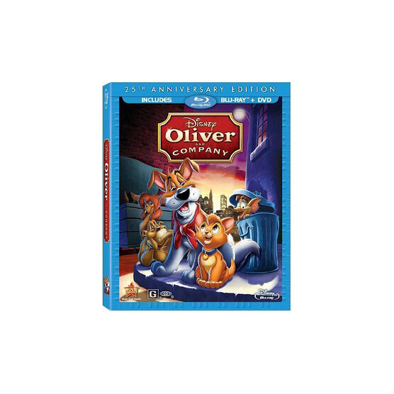 Oliver And Company: 25th Anniversary Edition - Blu-ray + DVD