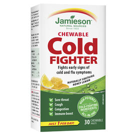 Jamieson Chewable Cold Fighter - Honey Lemon - 30's