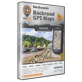 Backroad GPS Maps - New Brunswick - 02287