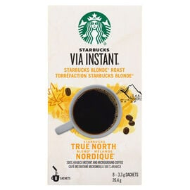 Starbucks VIA Instant Coffee - True North - 8 Sachets