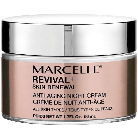 Marcelle Revival+ Skin Renewal Anti-Aging Night Cream - 50ml