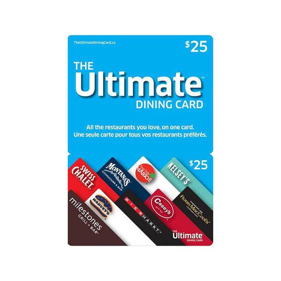 Cara Ultimate Dining Gift Card - $25