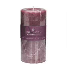 Enlighten Pillar Candle - Moroccan Fig - 3 x 6inch