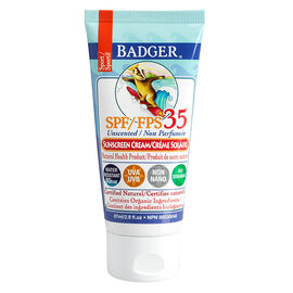 Badger Sport Sunscreen Cream - SPF 35 - 87ml