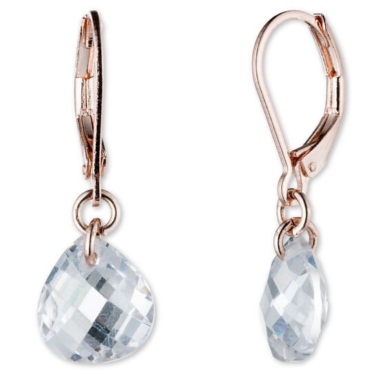 Lonna Lilly Drop Earrings - Rose Gold