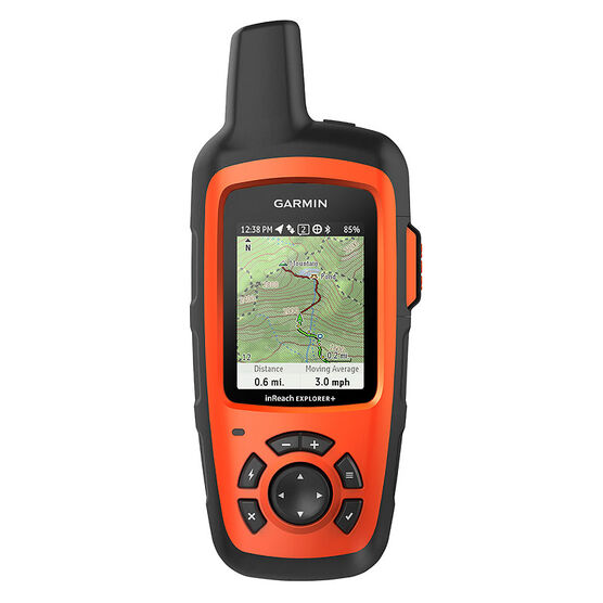 Garmin inReach Explorer+ Satellite Communicator with Maps and Sensors - Orange