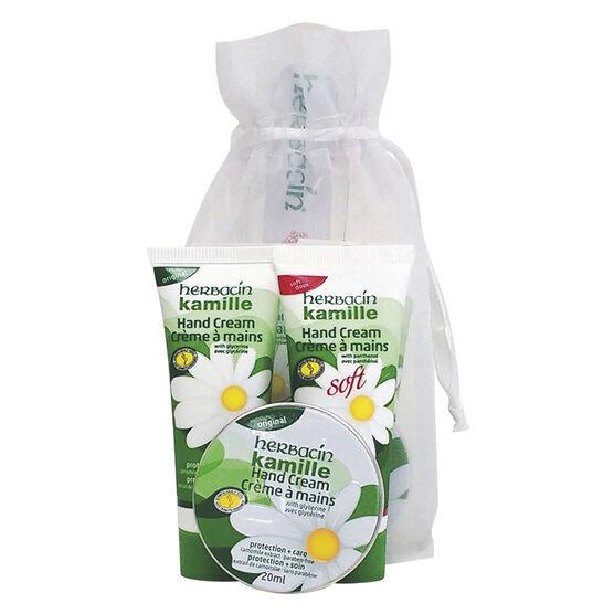 Herbacin Hand Cream Sampler Bag