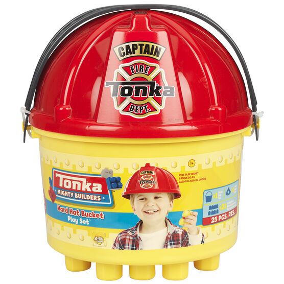 Tonka 3-in-one Bucket of Blocks - 25 piece