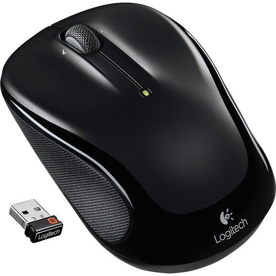 Logitech M325 Wireless Mouse - Black - 910-002989