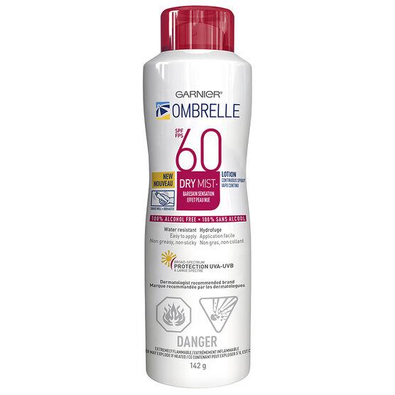 Ombrelle Continuous Spray Sunscreen - SPF 60 - 142g