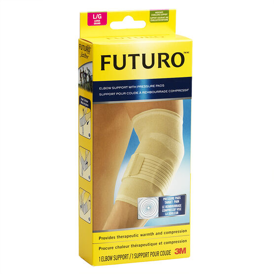 Futuro Elbow Support with Pressure Pads - Large