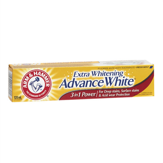 Arm & Hammer Extra Whitening Advance White 3-in-1 Power - 120ml