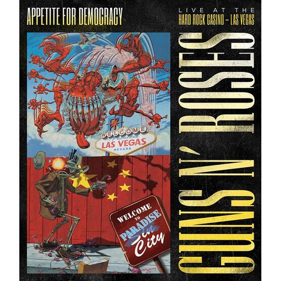 Guns n' Roses - Appetite For Democracy - DVD