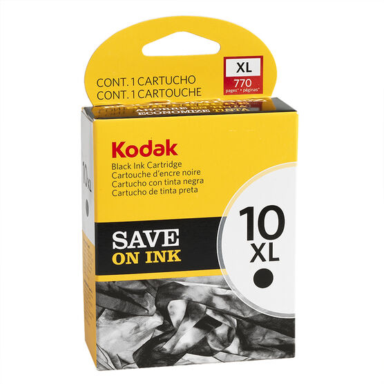 Kodak 10XL Ink Cartridge - Black