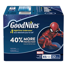 GoodNites Underwear for Boys - Extra Small - 32's