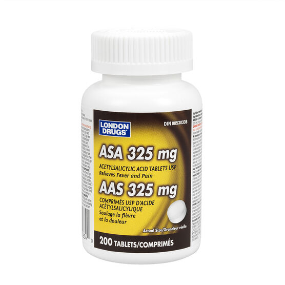 London Drugs ASA 325mg Tablets - 200's