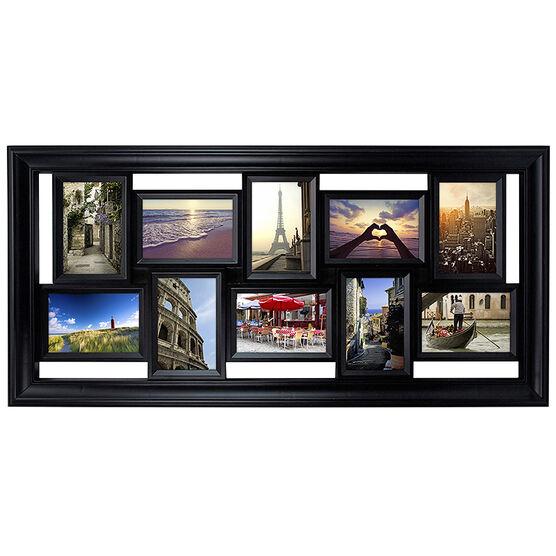 """KG Montage Collage Frame - Black - 10-4""""X6"""""""