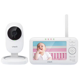 VTech Digital Video Baby Monitor with Full-Color and Automatic Night Vision - VM5251