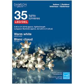 Danson Cherry Blossom LED Lights - 35's - Warm White - X77342