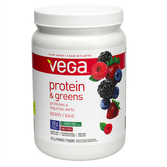 Vega Protein and Greens Berry - 522g