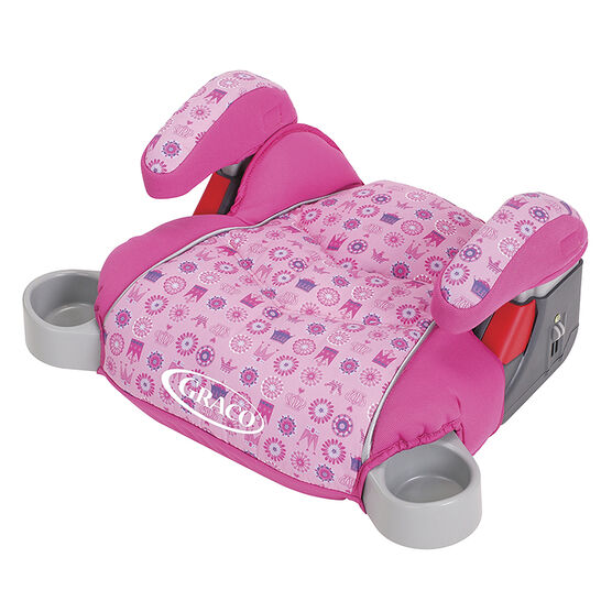 Graco No Back TurboBooster ® Car Seat  - My Crown - Pink