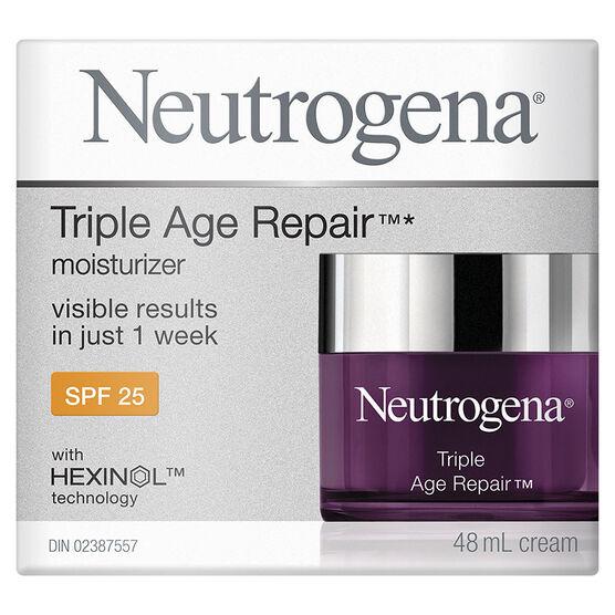 Neutrogena Triple Age Repair Moisturizer - SPF 25 - 48ml
