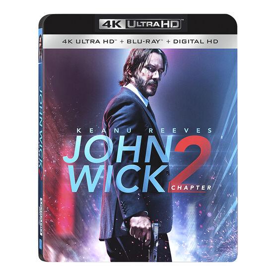 John Wick: Chapter 2 - 4K UHD Blu-ray