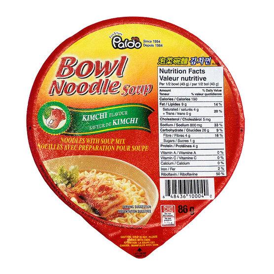 Paldo Noodle Bowl - Kimchi - 86g