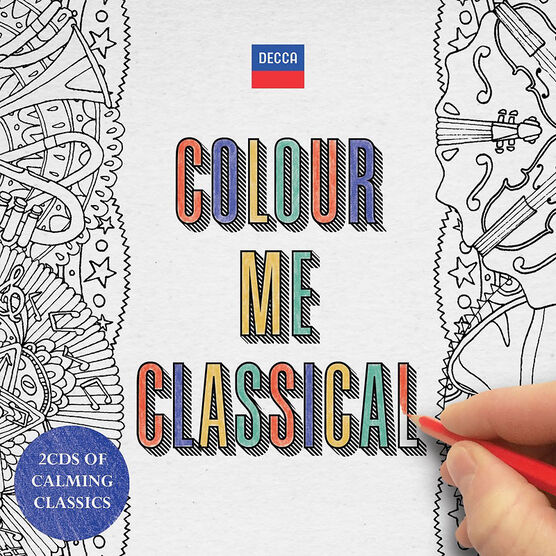 Various Artists - Colour Me Classical - 2 CD + Colouring Book