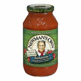 Newman's Own Sockarooni Sauce - 645ml