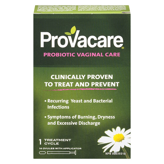 ProVacare Probiotic Vaginal Care - 14 Ovules