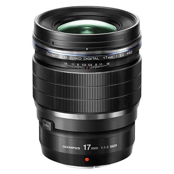 Olympus M.Zuiko ED 17mm F1.2 Pro Lens - Black - V311100BU000