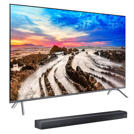 Samsung 65-in 4K UHD Smart TV + 3.1 Ch Sound+ Soundbar Package - PKG #12413