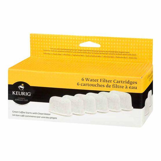 Keurig Water Filter Refill Cartridge - 6 pack