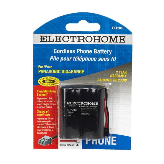 Electrohome ETA288 phone battery - NiMH