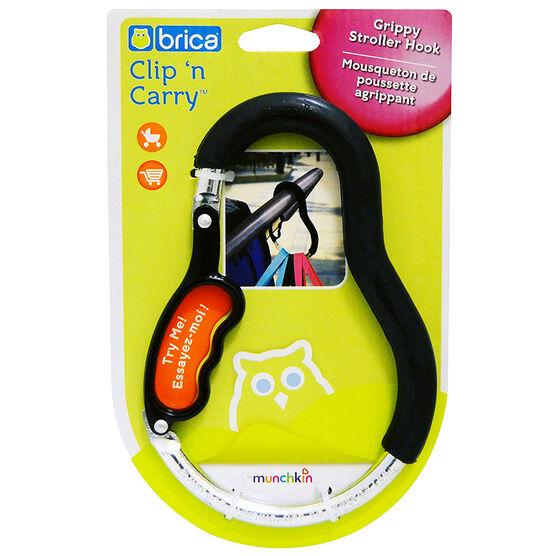 Munchkin Brica Clip 'n Carry Stroller Hook
