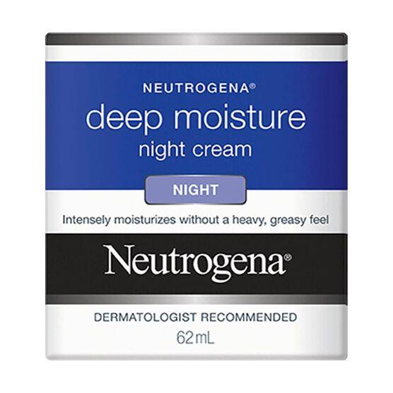 Neutrogena Deep Moisture Night Cream - 62ml